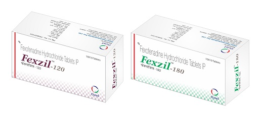 Fexzil 120mg Tablet